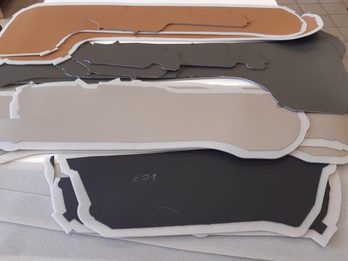 Leather lamination 3