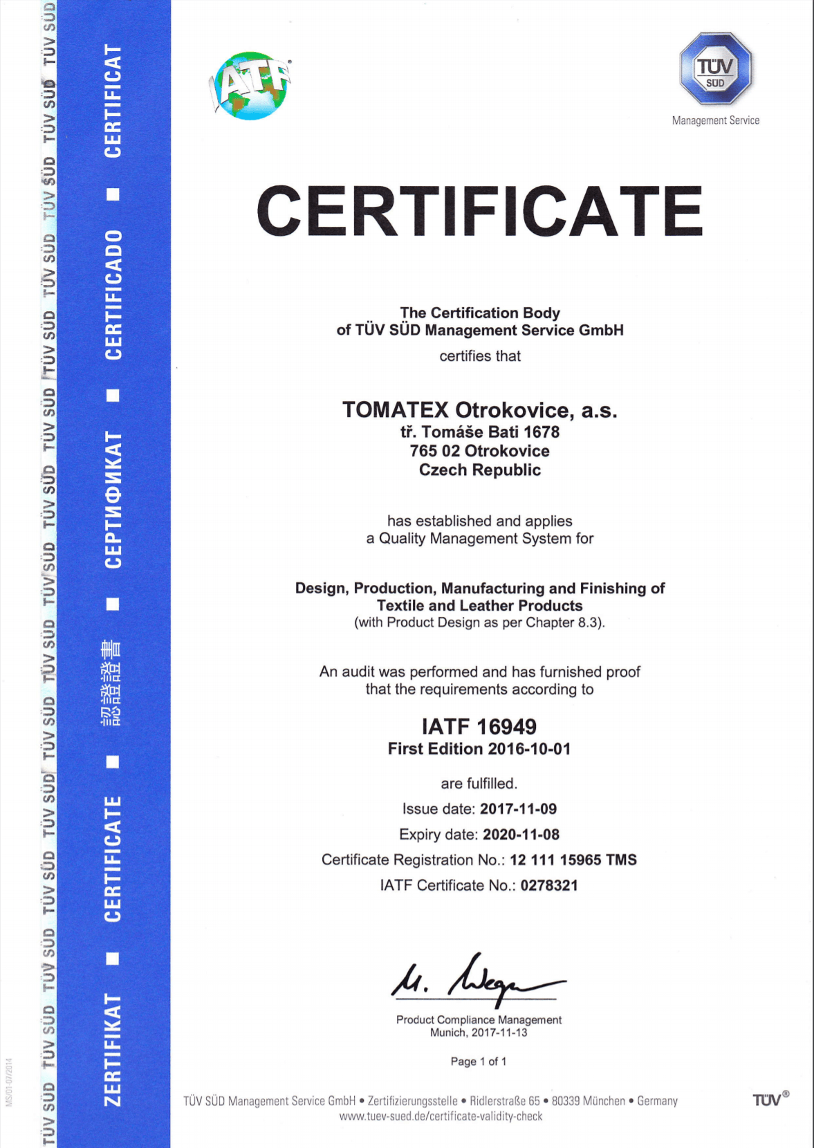 IATF 16949_EN TOMATEX