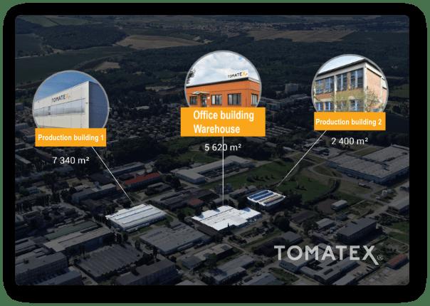Sídlo Tomatex